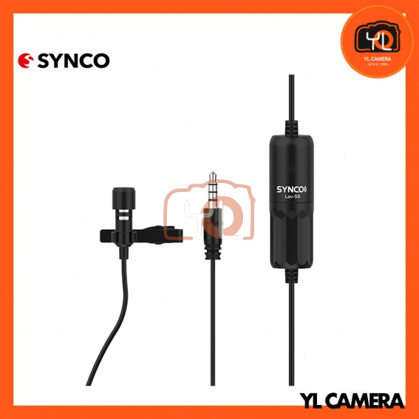 Synco Audio Lav-S8 Omnidirectional Lavalier Microphone