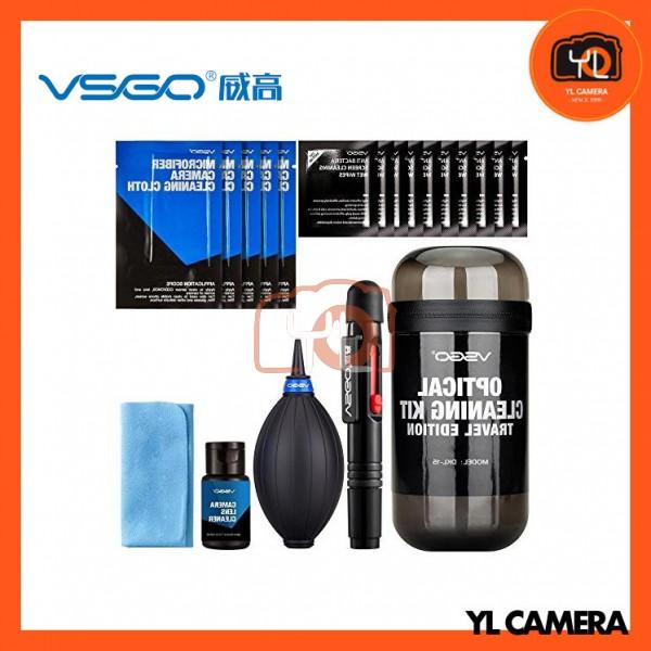 VSGO DKL-15G Travel Kit for Cleaning Lenses (Black)