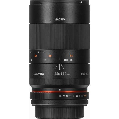 Samyang 100mm F2.8 ED UMC Macro Lens for Canon M Mount