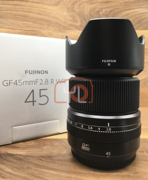 [USED @ YL LOW YAT]-Fujifilm GF 45mm F2.8 R WR Lens,98% Condition Like New,S/N:78A00888