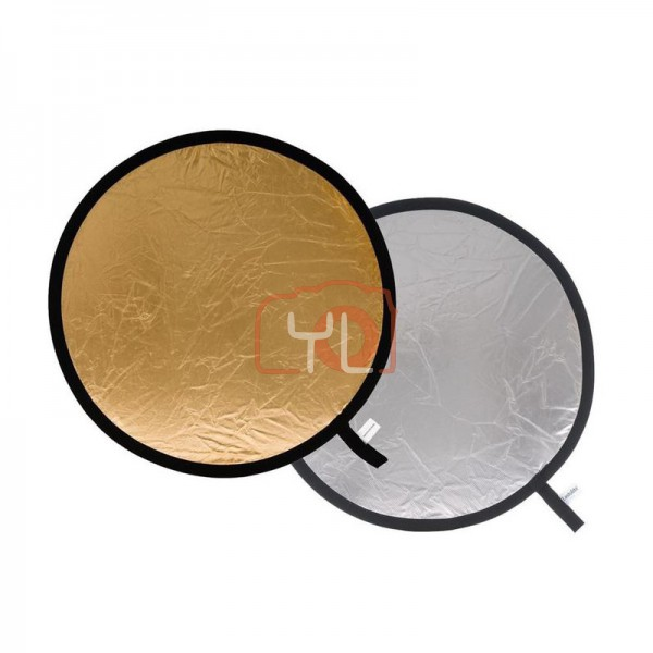 Lastolite Collapsible Reflector 95cm Silver/Gold