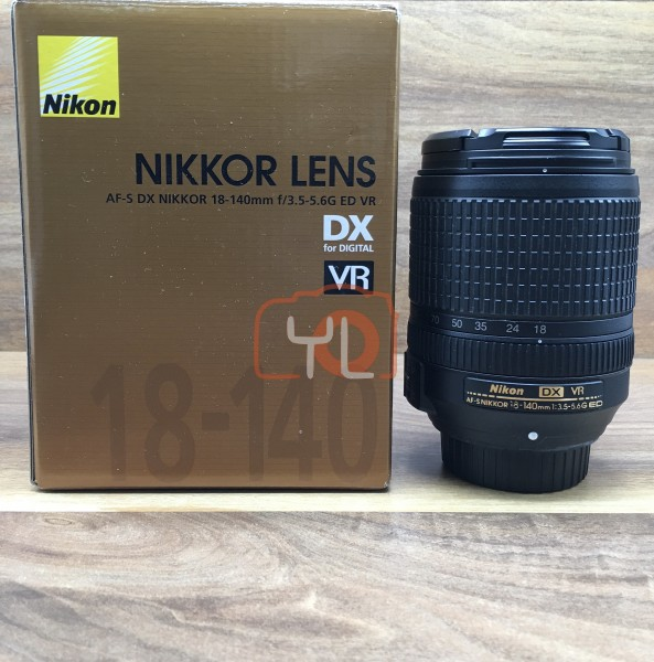 [USED @ YL LOW YAT]-Nikon AF-S 18-140mm F/3.5-5.6 G ED VR DX Lens,95% Condition Like New,S/N:30377788