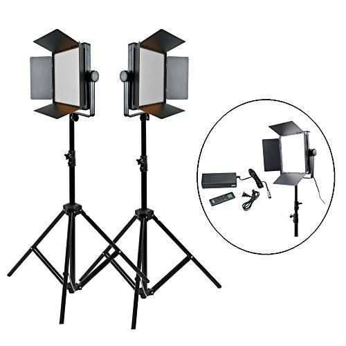 Godox LED1000C Bi-Color LED Video Light 2 Ligth Set Kit