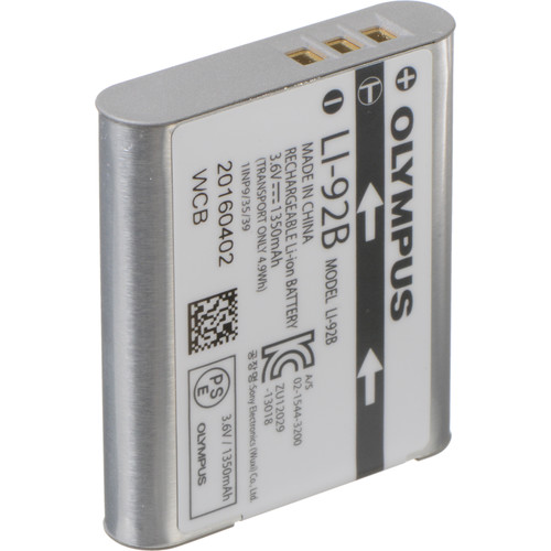 Olympus LI-92B Battery Pack (For TG-5/TG-Tracker)