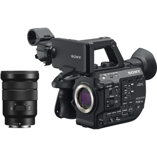 Sony PXW-FS5M2 4K XDCAM Super 35mm Compact Camcorder W/ 18-105mm