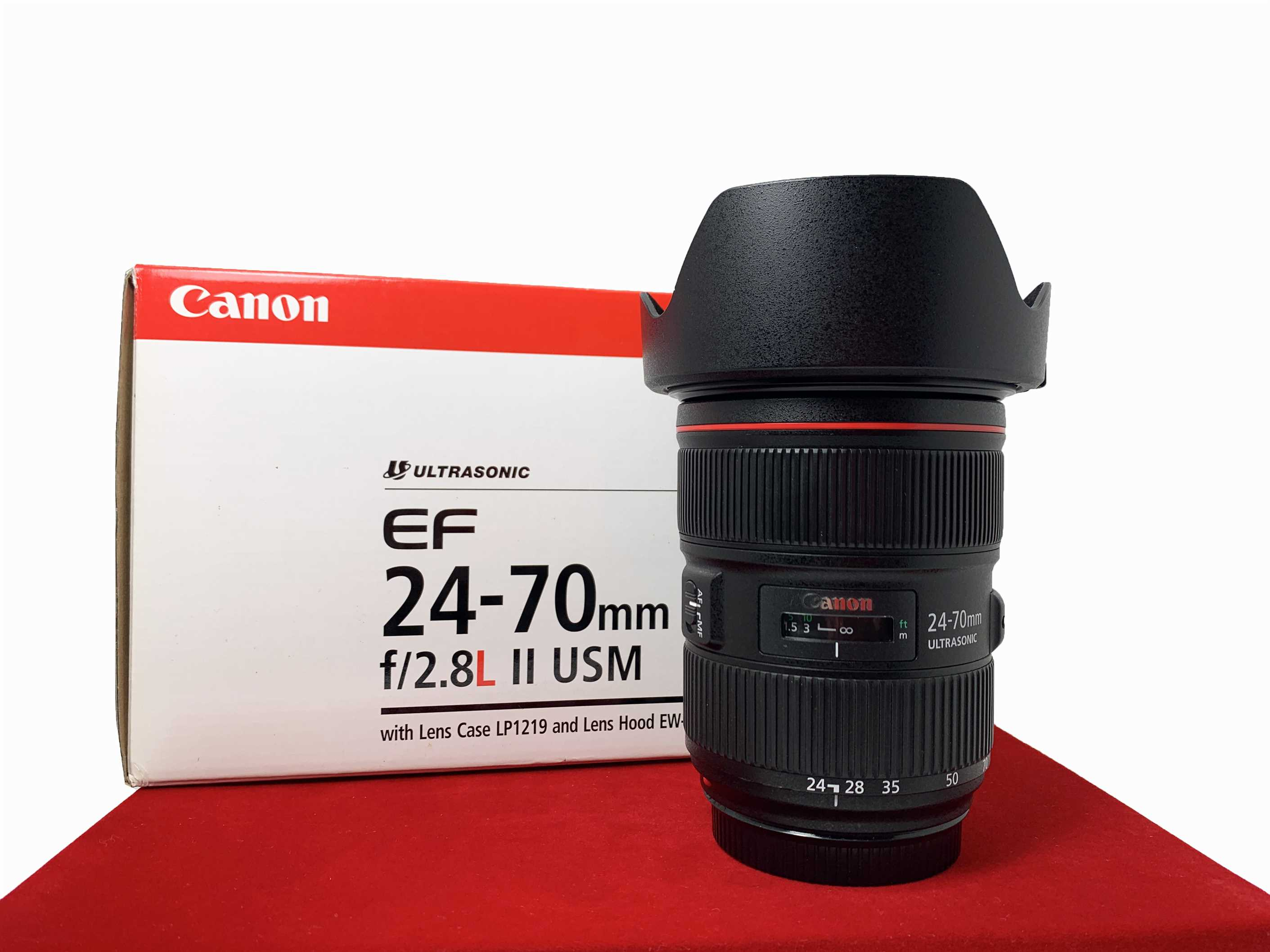 [USED-PJ33] Canon 24-70mm F2.8 L II EF USM LENS,95% Like New Condition (S/N:9200006687)