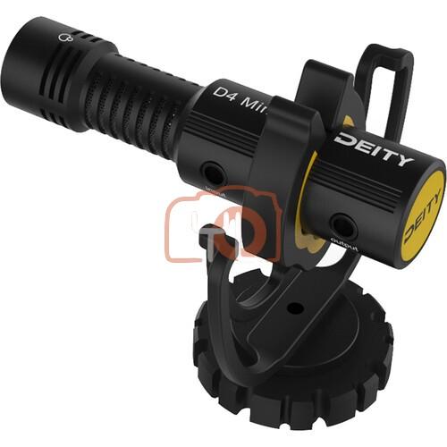 Deity Microphones V-Mic D4 Mini Ultracompact Camera-Mount Shotgun Microphone
