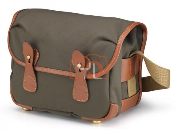 Billingham L2 Camera Shoulder Bag (Sage FibreNyte / Tan Leather)
