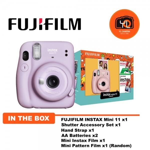 Fujifilm Instax Mini 11 Combo Kit - Lilac Purple
