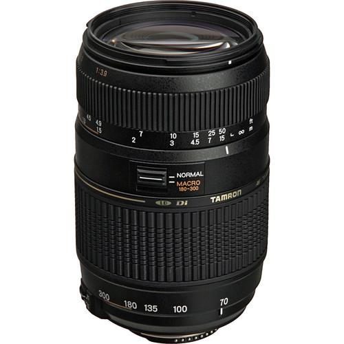 Tamron 70-300mm f/4-5.6 Di Macro Autofocus Lens (Canon)