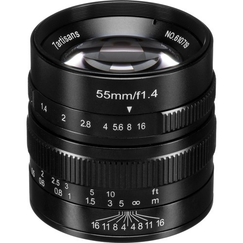 7artisans 55mm F1.4 For Micro Four Thirds (Black)
