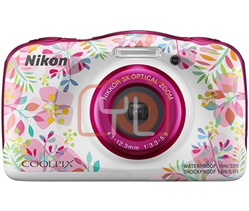 Nikon Coolpix W150 - Pink (Free 16GB SD Card & Camera Case)