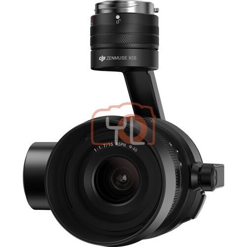 DJI Inspire 2 Standard Kit with Zenmuse X5S Gimbal & MFT 15mm/1.7 ASPH Lens