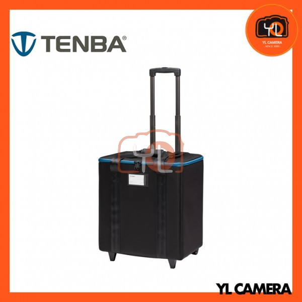 Tenba 1x1 LED 3-Panel Case with Wheels (Black)
