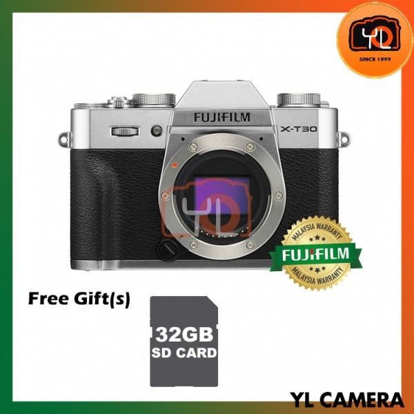 Fujifilm X-T30 (Silver) [Free 32GB SD Card]