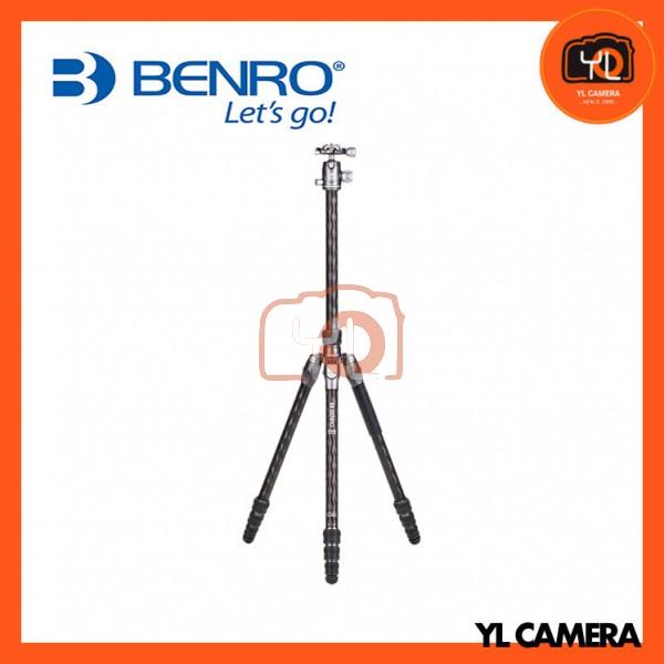 Benro FRHN14CVX20 Rhino Carbon Fiber One Series Travel Tripod with VX20 Head