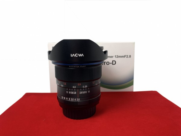 [USED-PJ33] Laowa 12MM F2.8 ZERO-D (Nikon), 95% Like New Condition (S/N:016796)