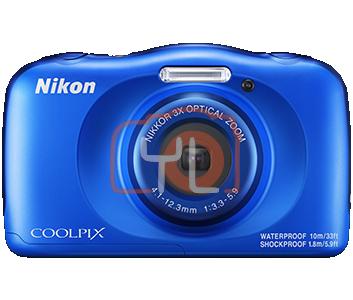 Nikon Coolpix W150 - Blue (Free 16GB SD Card & Camera Case)