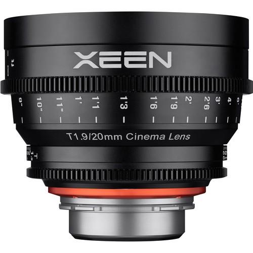 Samyang Xeen 20mm T1.9 Lens for Nikon F Mount