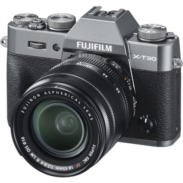 Fujifilm X-T30 (Charcoal) + XF 18-55mm f/2.8-4R LM OIS [Free 32GB SD Card]