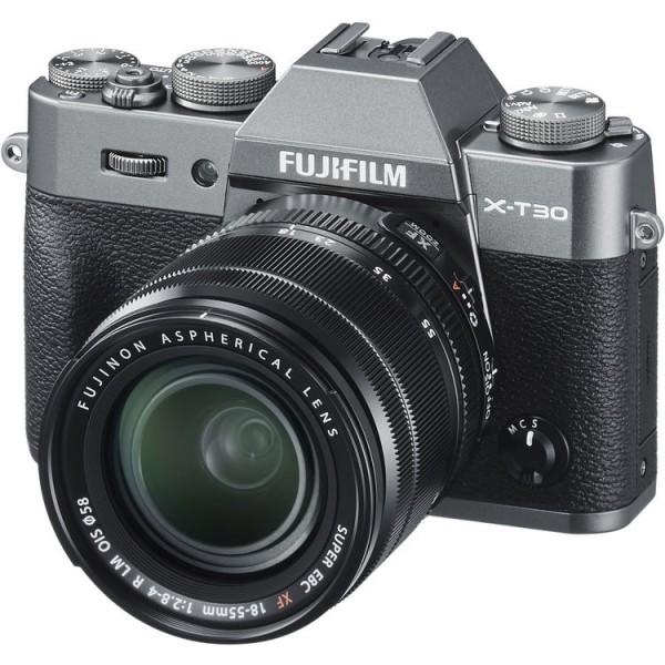 Fujifilm X-T30 (Charcoal) + XF 18-55mm f/2.8-4R LM OIS [Free 32GB SD Card]