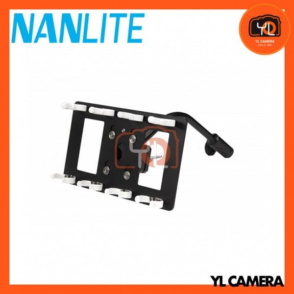 Nanlite HD-T12-4-BHG PavoTube Quad Bank T12 LED Tube Gooseneck Mount