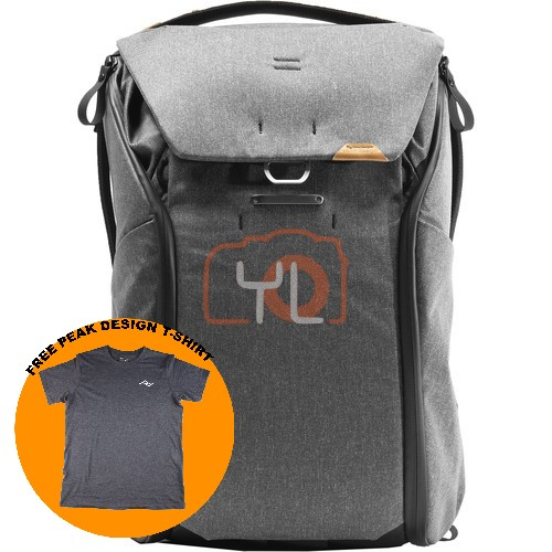 Peak Design Everyday Backpack 30L_Charcoal V2 (Free Peak Design T-Shirt)