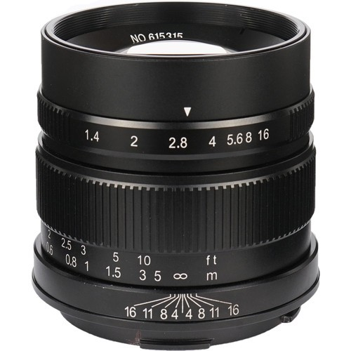 (Pre-Order) 7artisans 55mm F1.4 For Leica T (Black)