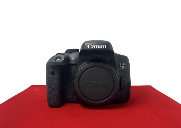 [USED-PJ33] Canon Eos 750D Body, 90% Like New Condition (S/N:0580220053652)