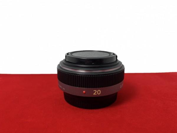 [USED-PJ33] Panasonic 20MM F1.7 G ASPH, 95% Like New Condition (S/N:BR9JB010268)