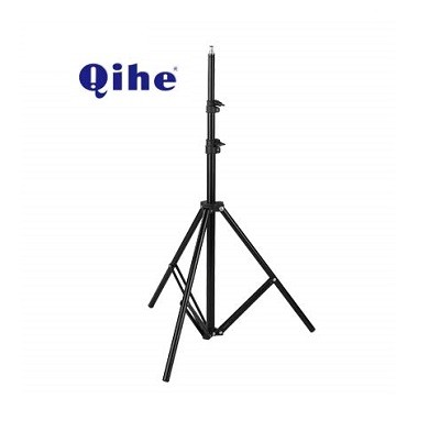 Qihe QH-J190 Portable Tripod/Studio Light Stand – Black