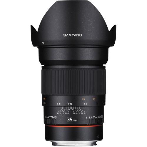Samyang 35mm F1.4 AS UMC Lens for Canon EF