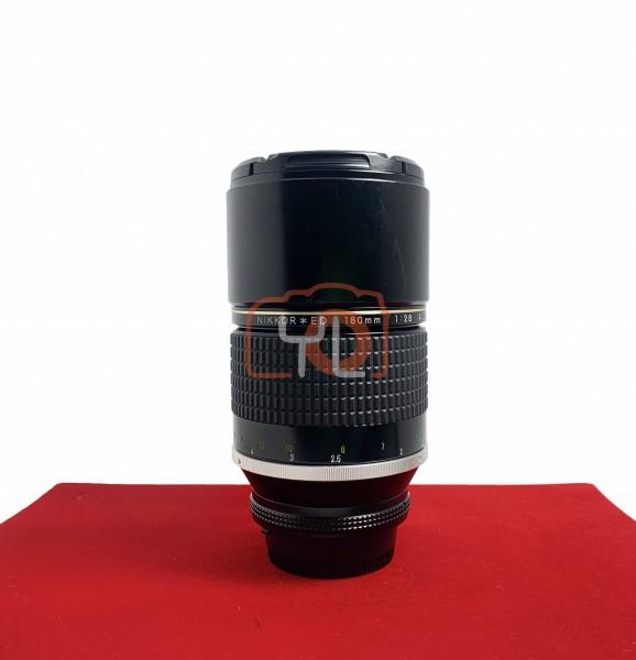 [USED-PJ33] Nikon 180MM F2.8 AIS, 90% Like New Condition (S/N:415822)