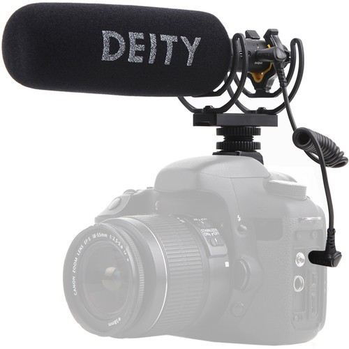 Deity Microphones V-Mic D3 Pro  with Rycote Lyre Suspension