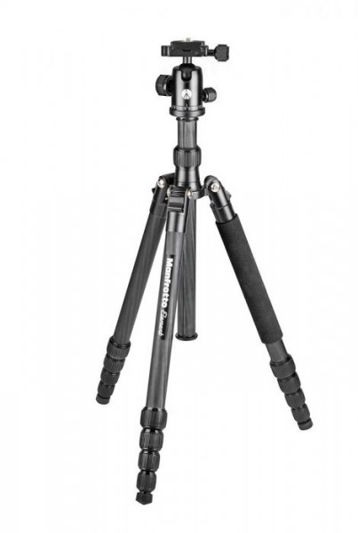 Manfrotto MKELEB5CF-BH Element Carbon Fiber Big Traveler Tripod (Black)