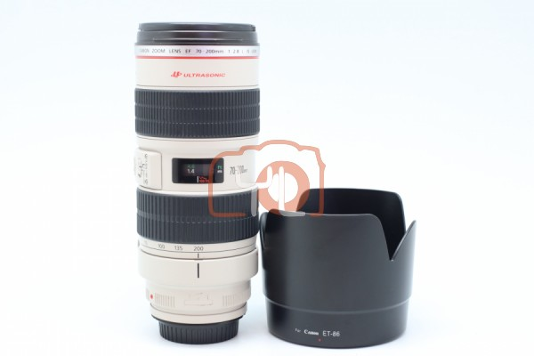 [USED-PUDU] Canon 70-200mm F2.8 L IS EF USM LENS 88%LIKE NEW CONDITION SN:471319