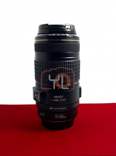 [USED-PJ33] Canon 70-300MM F4-5.6 IS EF USM , 95% Like New Condition (S/N:03910538)