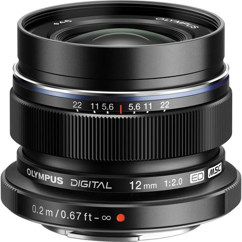 Olympus 12mm F2 M.Zuiko (Black)