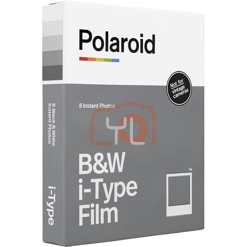 Polaroid Black & White i-Type Instant Film (8 Exposures)