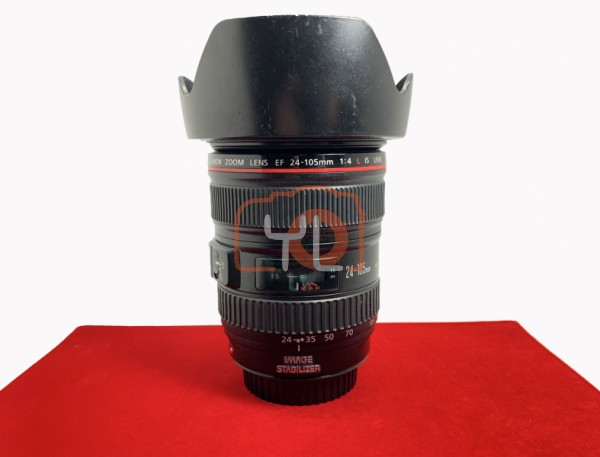 [USED-PJ33] Canon 24-105mm F4 L IS USM, 85% Like New Condition (S/N:5860376)