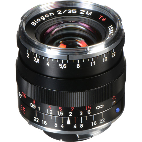 ZEISS Biogon T* 35mm F2 ZM Lens (Black)