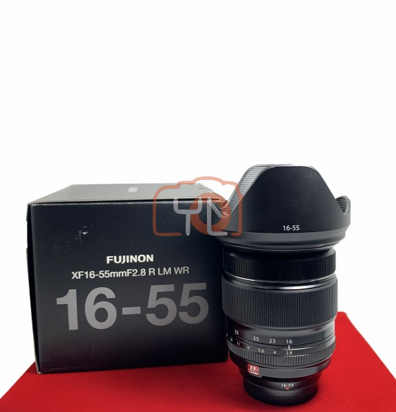 [USED-PJ33] Fujifilm 16-55mm f2.8 R LM WR XF, 95% Like New Condition (S/N:55A02465)