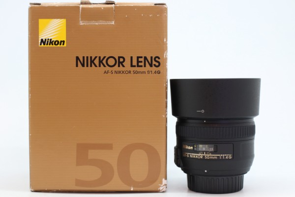 [USED-PUDU] NIKON 50MM F1.4G AFS 98%LIKE NEW CONDITION SN:423700
