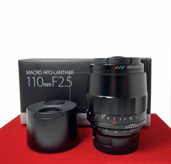 [USED-PJ33]  Voigtlander 110MM F2.5 Marco APO-Lanther (Sony E-Mount), 95% Like New Condition (S/N:08860805)
