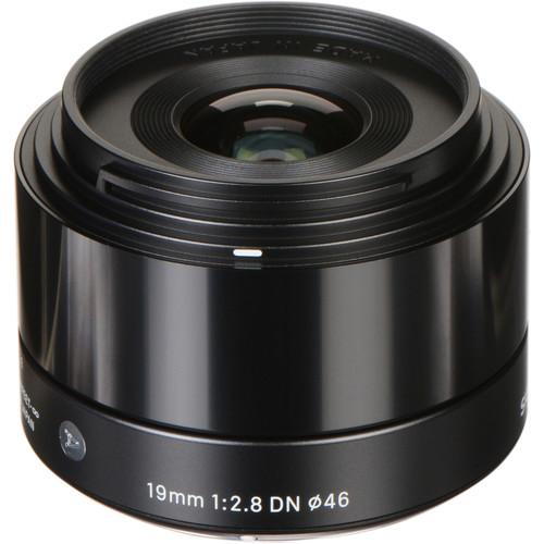 Sigma 19mm F2.8 DN Art Lens for Sony E-Mount (Black)