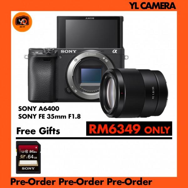 (Pre-Order) Sony A6400 Body W/ FE 35mm F1.8