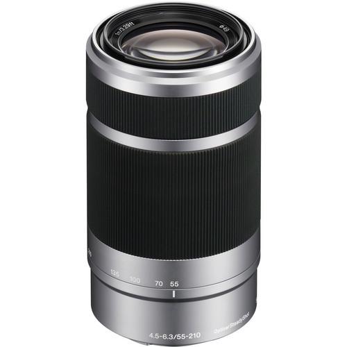Sony E 55-210mm F4.5-6.3 OSS [Silver] (SEL55210)