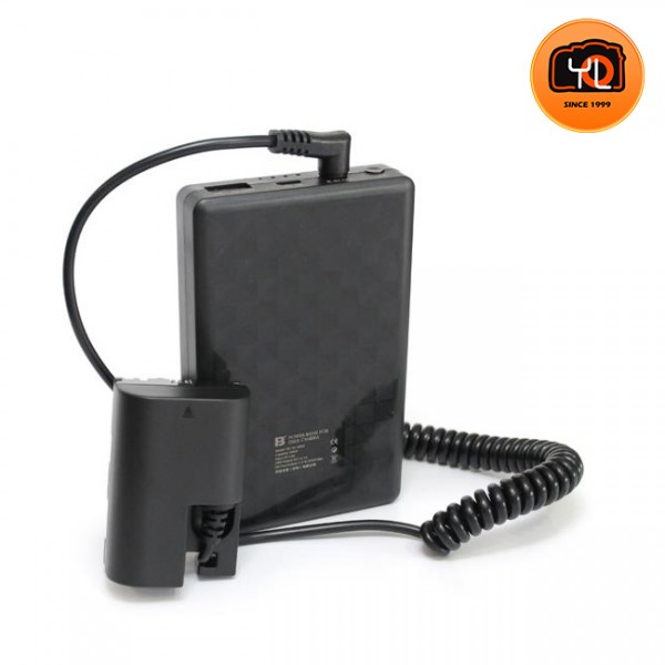 FB XJ-8000 Power Pack with LP-E6 Dummy Battery for Canon
