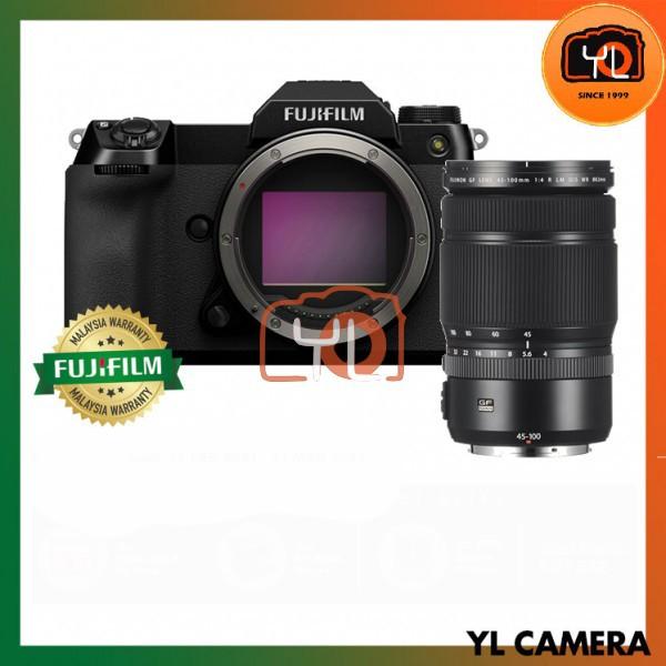 Fujifilm GFX 100S Medium Format Mirrorless Camera (Kit - GF 45-100mm F4 R LM OIS WR)