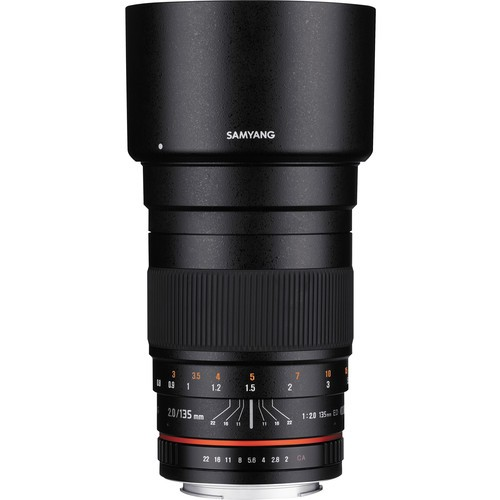 Samyang 135mm f/2.0 ED UMC Lens for Sony E Mount